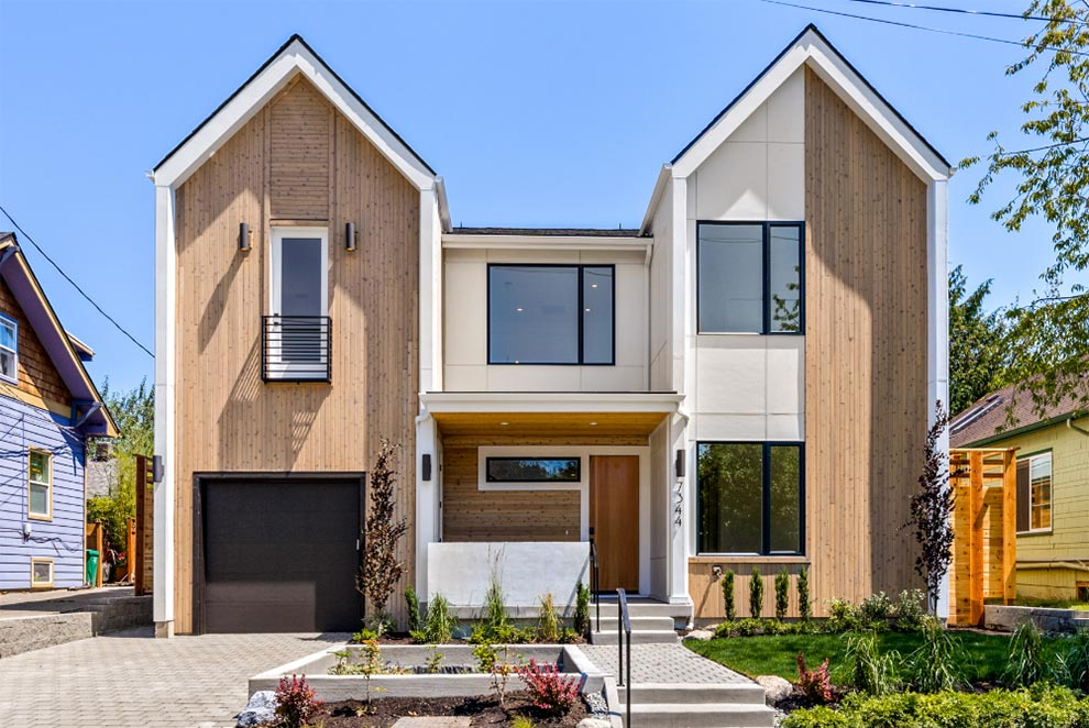 Pacific Northwest new build replacement home