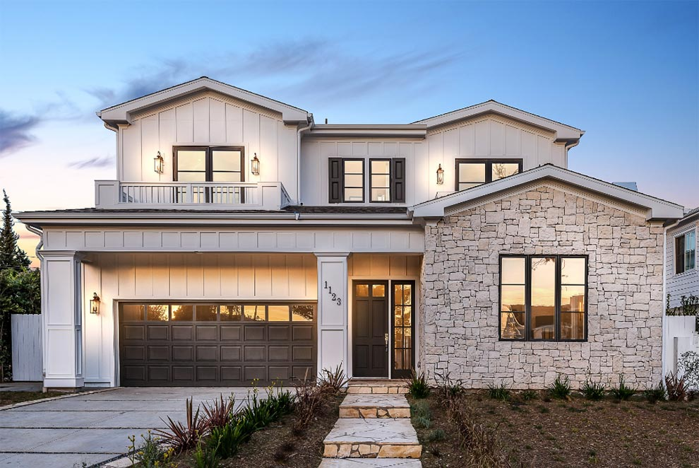 Southern California new build replacement home